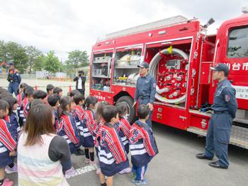 幼年消防任命式01