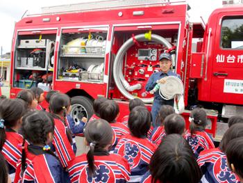 幼年消防任命式02