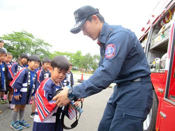 幼年消防任命式03